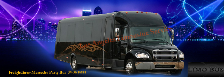 Mercedes-Freightliner party bus